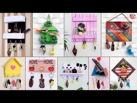 10+ Beautiful Key Stand Ideas !!! Best Home Useful Craft Making at Home