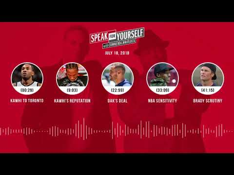 SPEAK FOR YOURSELF Audio Podcast (7.18.18) with Colin Cowherd, Jason Whitlock | SPEAK FOR YOURSELF