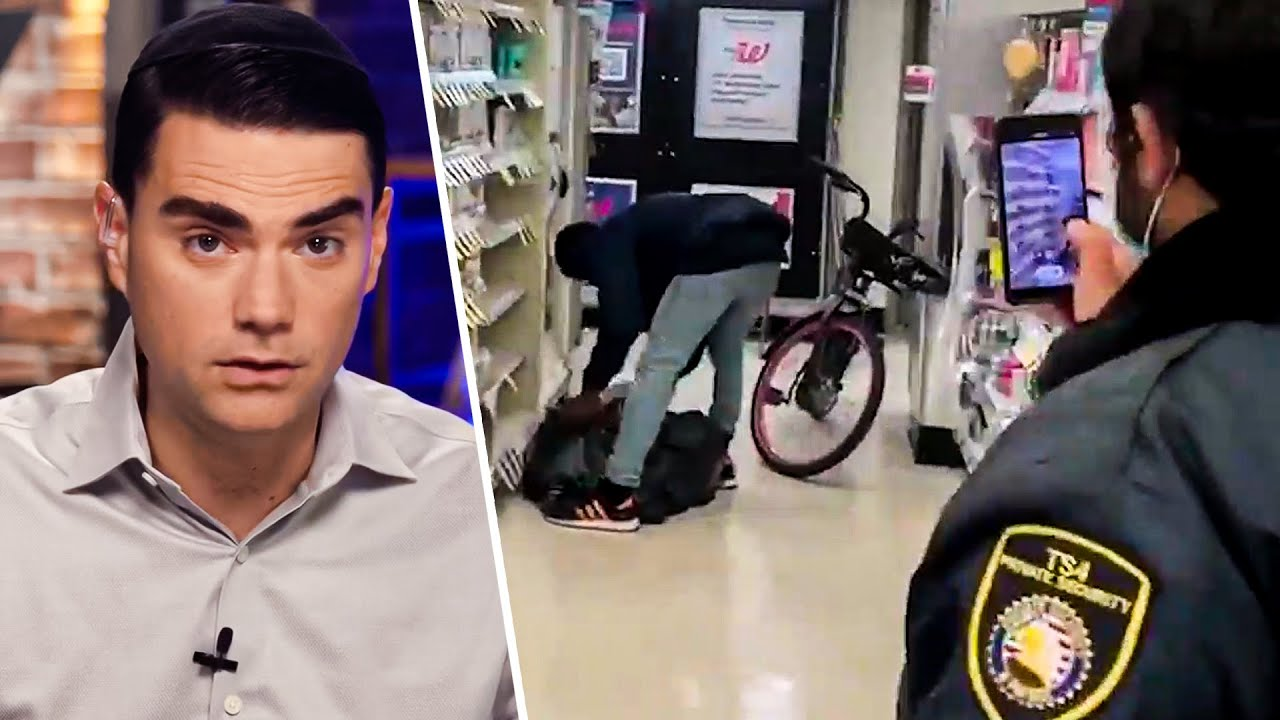Shapiro REACTS To Viral SHOPLIFTING Video (San Francisco, CA)