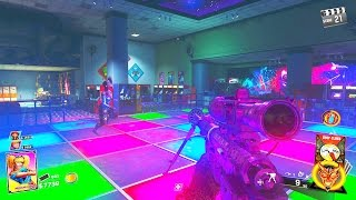 INFINITE WARFARE ZOMBIES - MAIN EASTER EGG HUNT GAMEPLAY WALKTHROUGH (ZOMBIES IN SPACELAND)