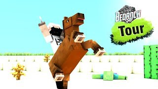 Bedrock SMP Season 2 Live Tour With Friends - Minecraft PE | in Hindi | BlackClue Gaming