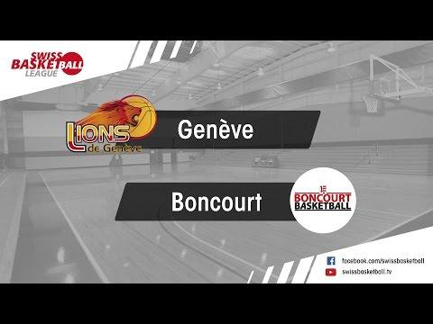 AM_D14: Genève vs Boncourt