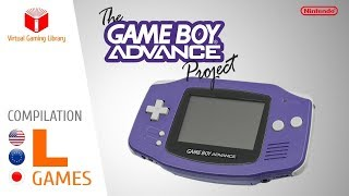 The Game Boy Advance Project - Compilation L - All GBA Games (US/EU/JP)