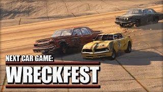 WRECKFEST - Under Construction Sand Pit Track