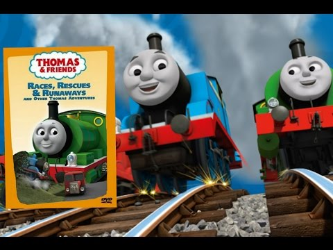 Races, Rescues & Runaways and Other Thomas Adventures (CGI Version) | Custom DVD