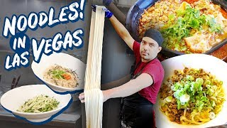 BEST Las Vegas NOODLES! Chinese BEEF NOODLES & Japanese Udon are MUST TRY!