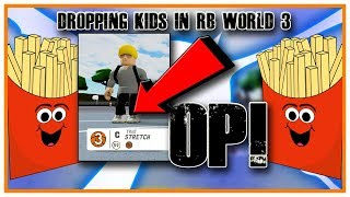 Center Stretch Hits Up RB World 3 Park | ROBLOX | RB WORLD 3