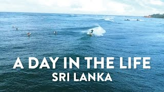 A day in the life in Sri Lanka w. Lapoint Surf Camps