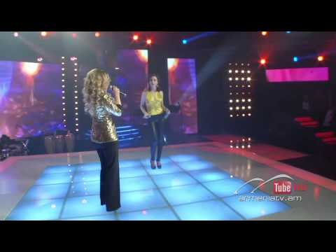 Арцвик Арутюнян и Кристине Мангасарян - Дуэт в финале шоу Голос Армении 2013