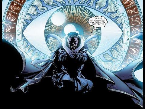 Dr. Strange vs Insane Scarlet Witch - Disassembled