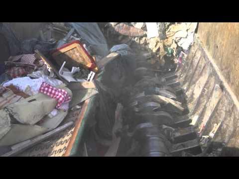 metso 6000 shredder waste stockholm