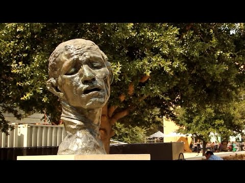At the Rodin Sculpture Garden, Stanford Museum of Art