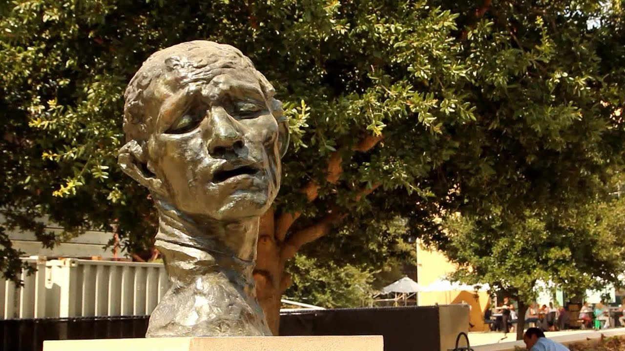At the Rodin Sculpture Garden, Stanford Museum of Art - YouTube
