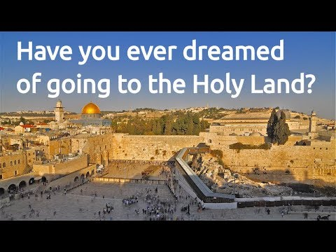 Have you ever dreamed of going to the Holy Land? Israel 2019 - Music Travel & Worship - Jaime Jorge