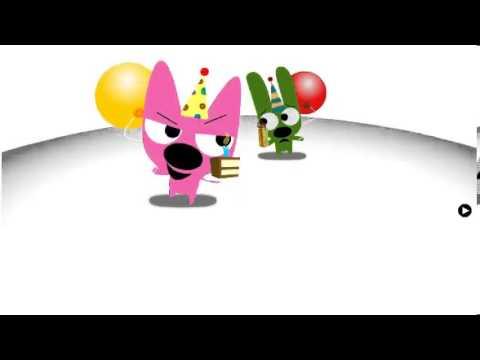 Hoops and Yoyo Birthday Race