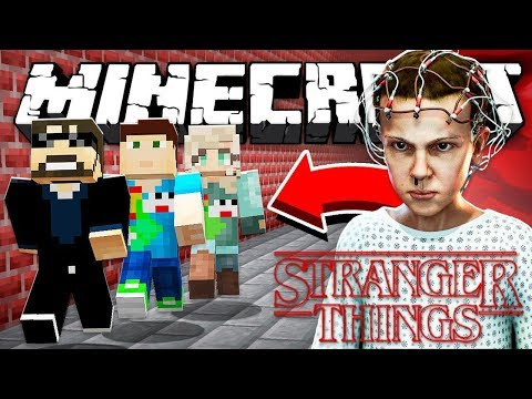 Minecraft: STRANGER THINGS KILLER RUN | MODDED MINI GAME!
