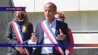 Yvelines | L'actualité de la semaine en 78 secondes (du lundi 26 au vendredi 30 avril)