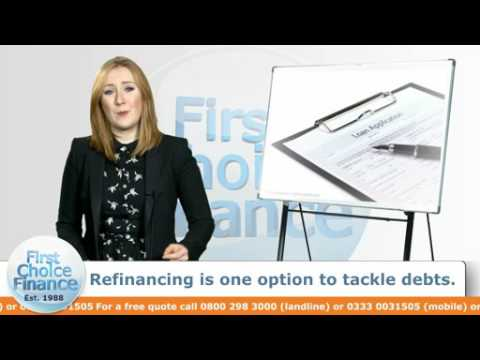 Refinancing is one option to tackle debts