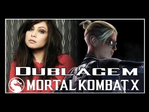 Mortal Kombat X - Todos os Diálogos De Entrada - Cassie Cage Dublada por Pitty