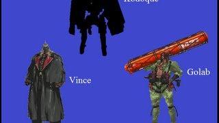 Metal Gear Acid 2 Boss Rush Part 1