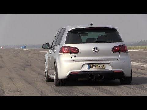 800HP VW Golf 6 R with R32 Engine – FAST 1/2 Mile Accelerations!