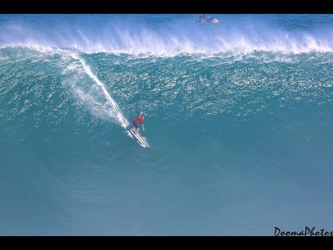 Big Wave Surfing Jaws Peahi Maui 2018 SONY 4K FULL