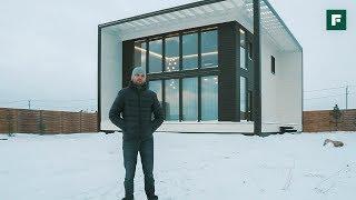 Куб в кубе. Современный дом, родом из Австралии