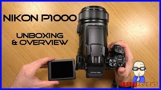 Nikon P1000: 24-3000mm Zoom Bridge Camera | Unboxing & Overview | MyKeyReviews