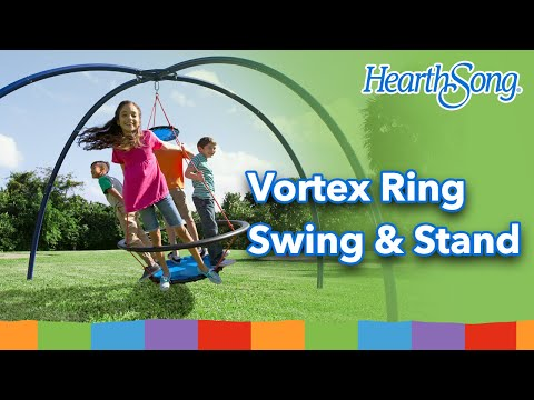 Vortex™ Spin Swing and Sky Dome™ Arched Stand SKU# 730311 - HearthSong