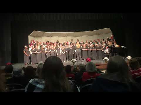 Warhill High School Winter Honors Choir Concert 2018 (2 min)