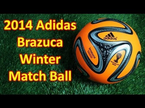 Adidas Brazuca Power Orange Winter Edition 2014 World Cup Match Ball - Unboxing + Overview