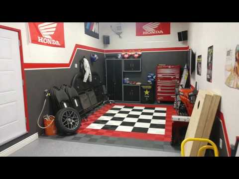 Motorcycle Garage overhaul SWISSTRAX and epoxy