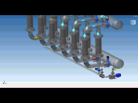 CDB Engineering SpA - BACKWASHING BATTERY FILTER
