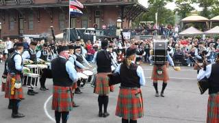 St. Columcille pipe band 2015 Celtic Classic