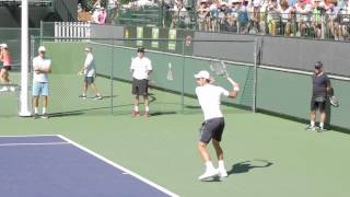 Novak Djokovic Slow Motion Groundstrokes Indian Wells 2015 with Music