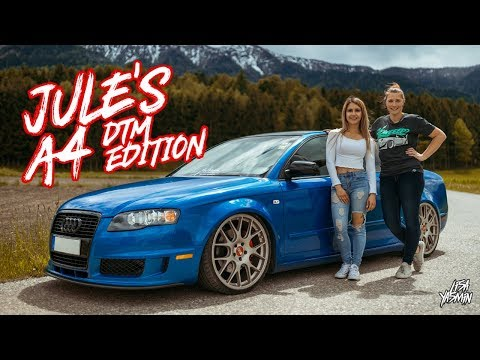 Audi A4 DTM Edition | Jule's A4 B7 | CarGirls Teil 4 | Lisa Yasmin