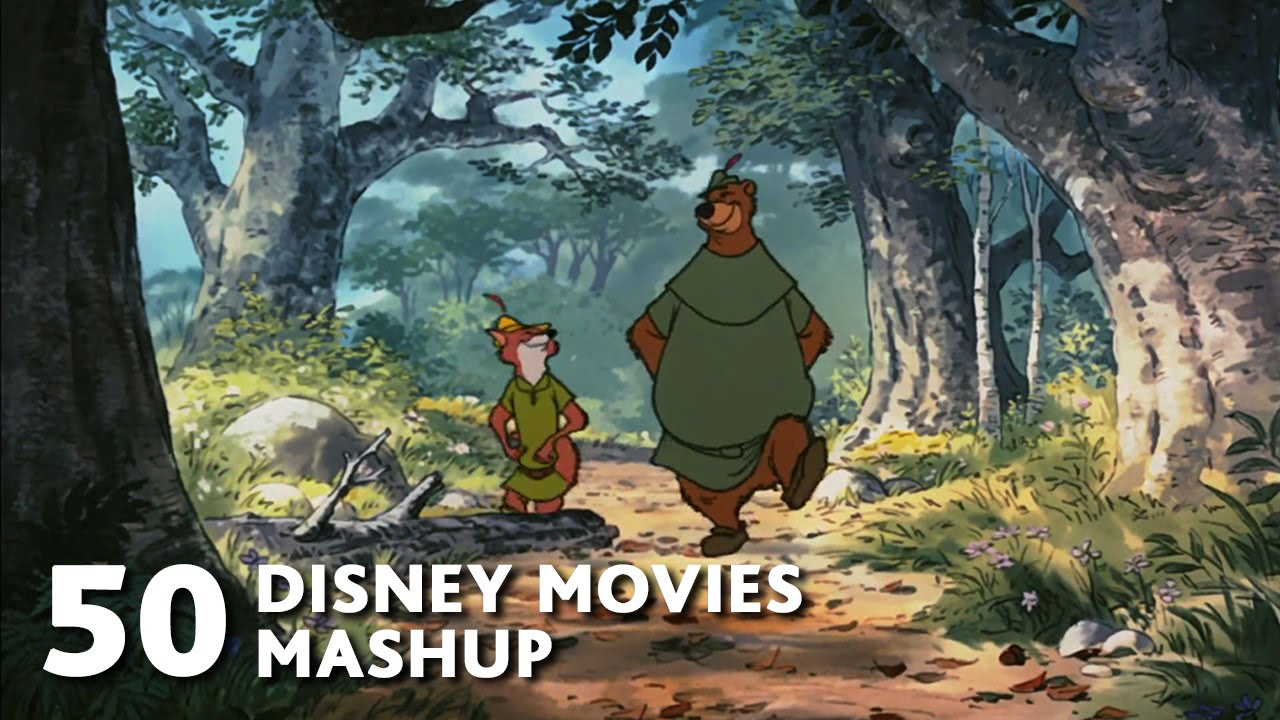 50 Disney Movies Mashup - All I Want For Christmas Is You ...