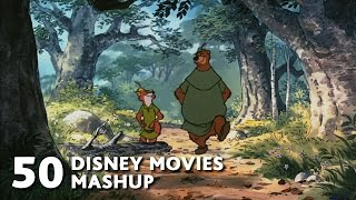 50 Disney Movies Mashup - All I Want For Christmas Is You - WTM