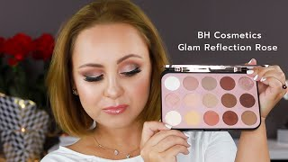 Tips for a Perfect Instagram Look -  Smokey Eyes Tutorial - BH Cosmetics GLAM REFLECTION Rose