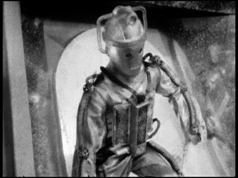 The Cybermen Break Out of the Tomb | The Tomb of the Cybermen | Doctor Who