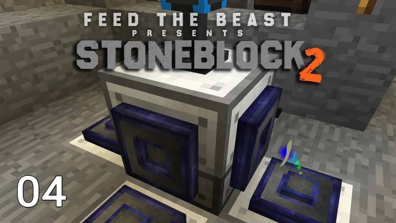 FTB Stoneblock 2 EP4 Starting Ender IO + Ore Doubling