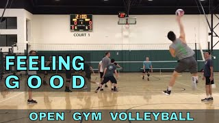 FEELING GOOD - Open Gym Volleyball (11/29/18) part 2