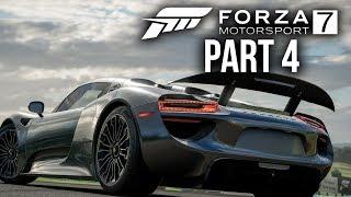 FORZA MOTORSPORT 7 Gameplay Walkthrough Part 4 - PORSCHE 918 SPYDER