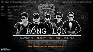 Rồng Lộn - BDT ft ItsLee, DaVickie, Tricky & Jr [GVR] [Video Lyrics Remake]