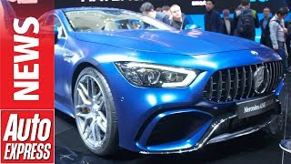 Monstrous 630bhp Mercedes-Amg Gt Four-Door Coupe Unleashed At Geneva