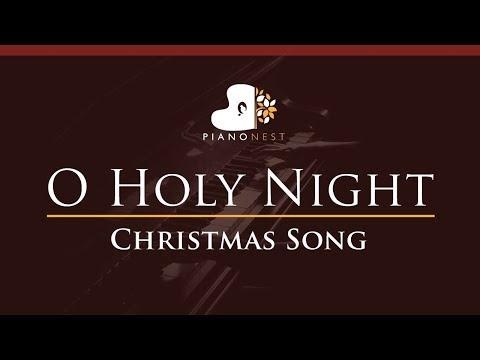 O Holy Night - in Ab - Christmas Song Piano Karaoke  Sing Along