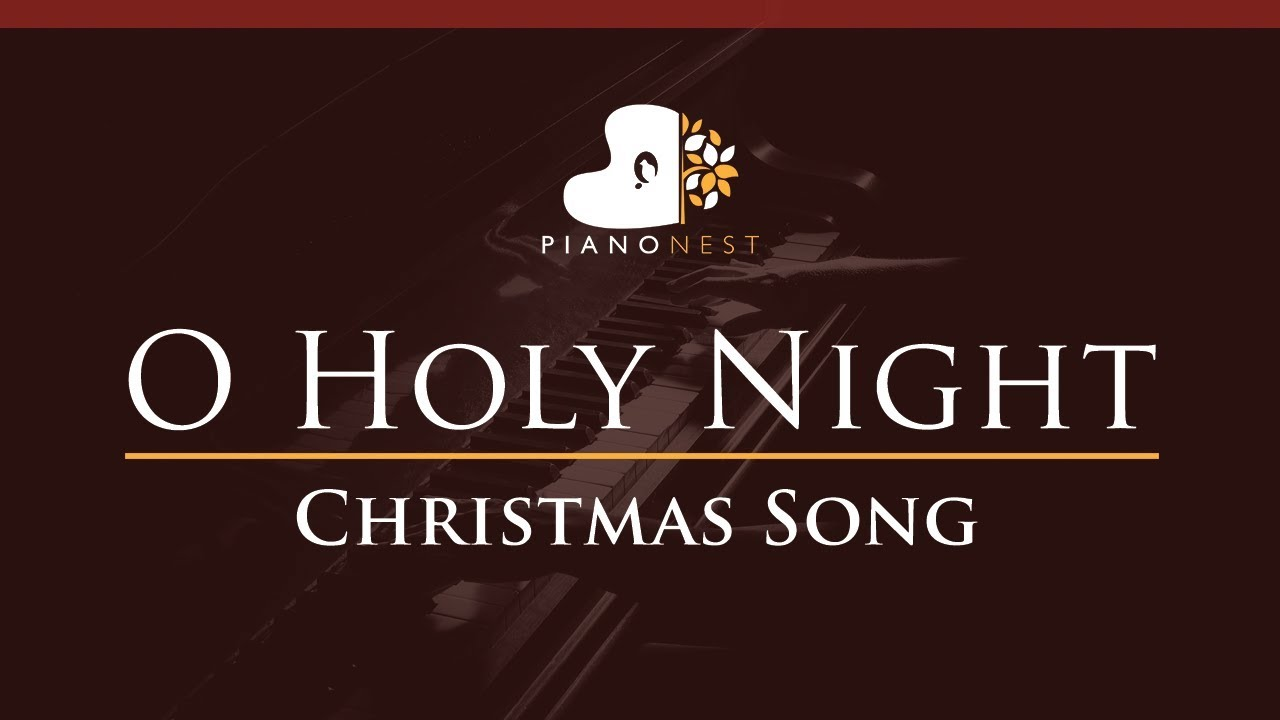 O Holy Night - in Ab - Christmas Song (Piano Karaoke / Sing Along) - YouTube