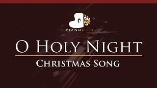 O Holy Night - in Ab - Christmas Song (Piano Karaoke / Sing Along)