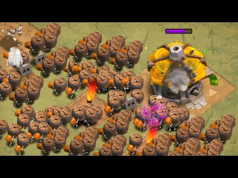 ALL WALL BREAKERS + JUMP SPELLS! Do They Jump? Clash of Clans Attack Strategy!