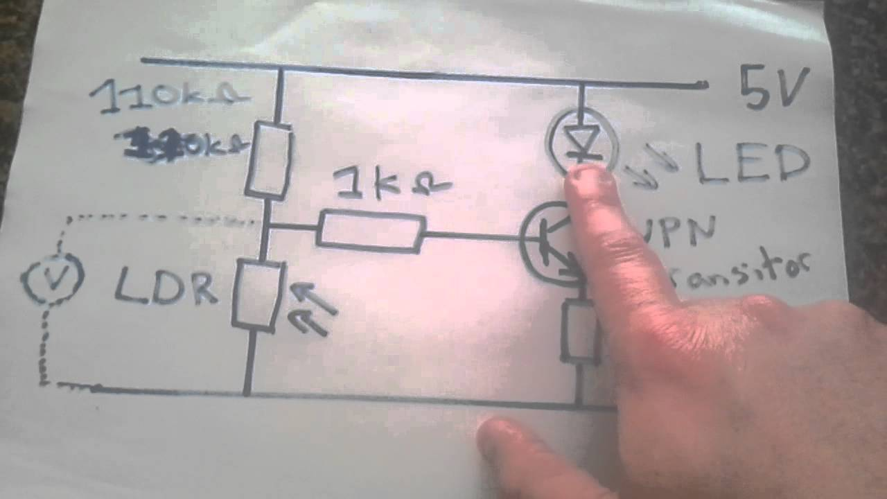 L.D.R. and the transistor - IGCSE Physics - YouTube